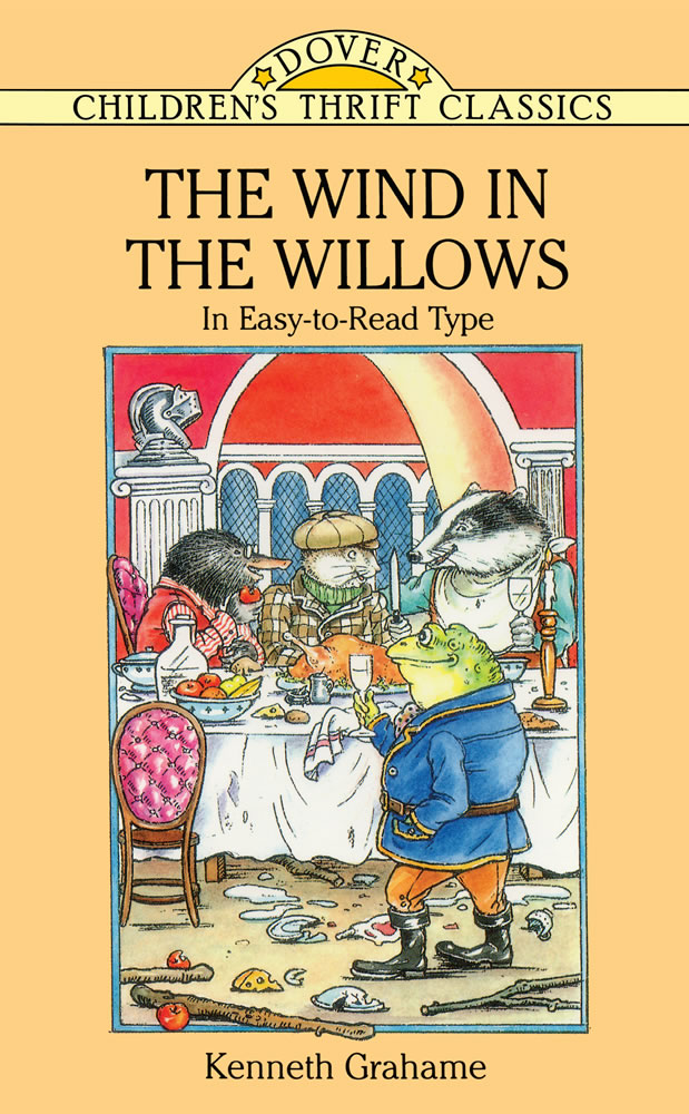 The Wind in the Willows: In Easy-to-Read Type