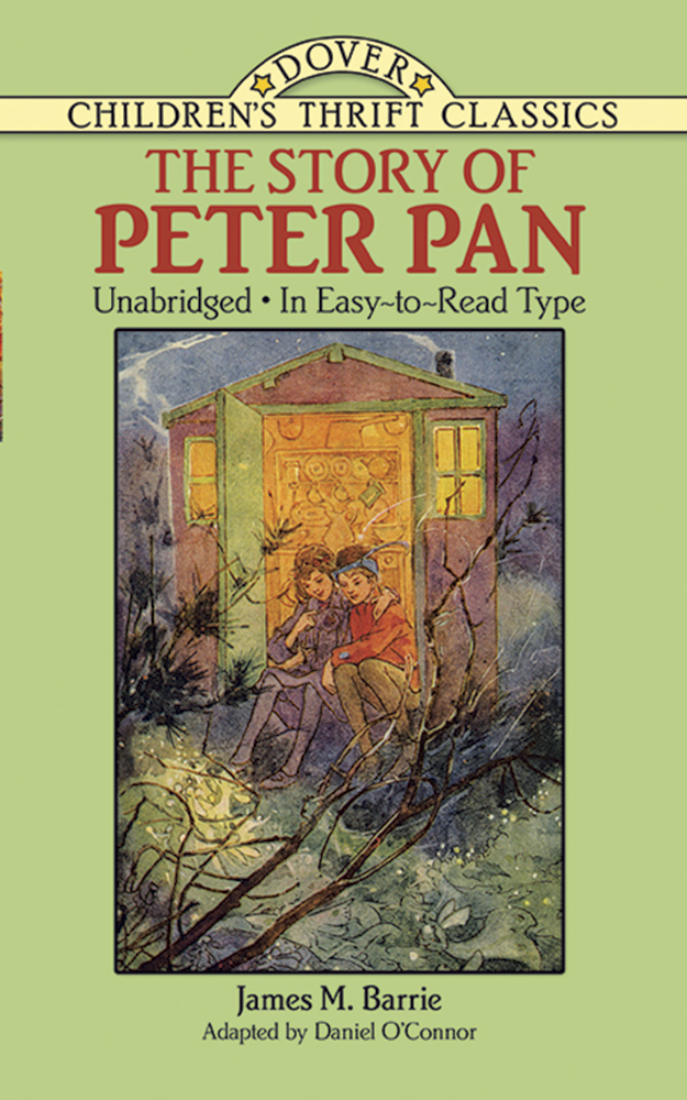 The Story of Peter Pan: Unabridged in Easy-To-Read Type