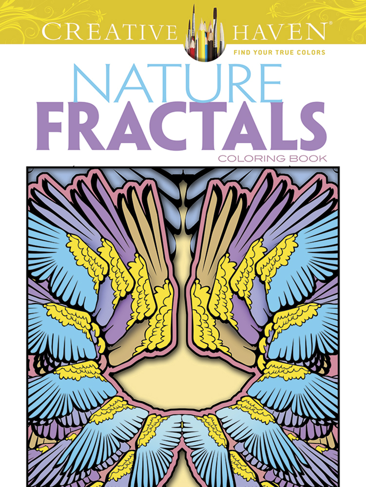 Creative Haven Nature Fractals Coloring Book