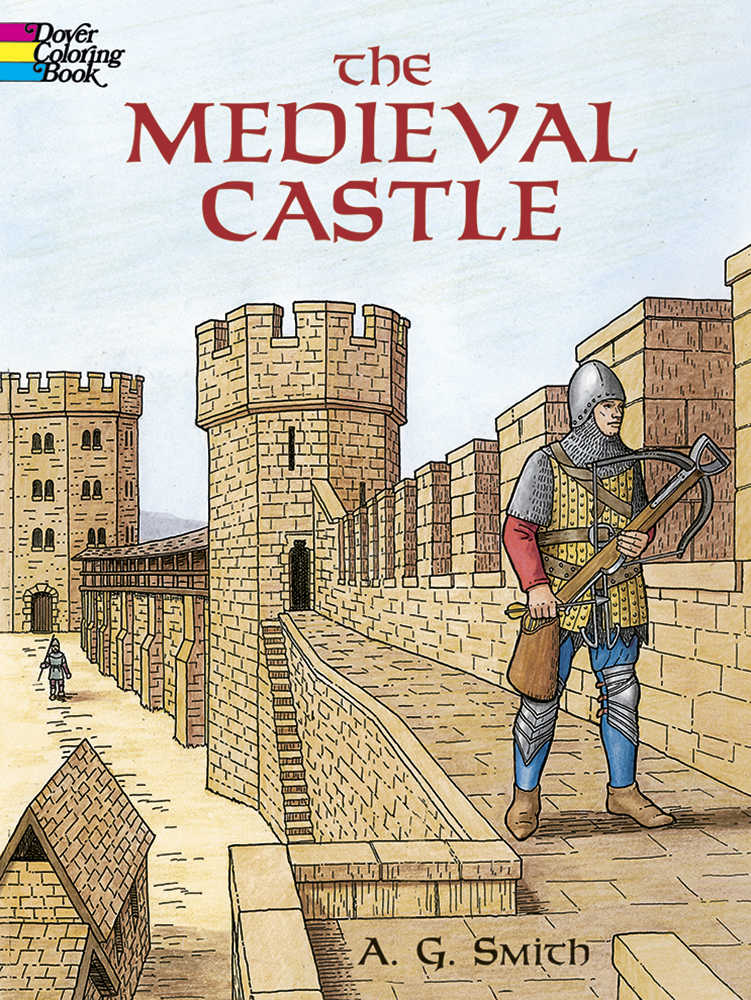 The Medieval Castle Coloring Book