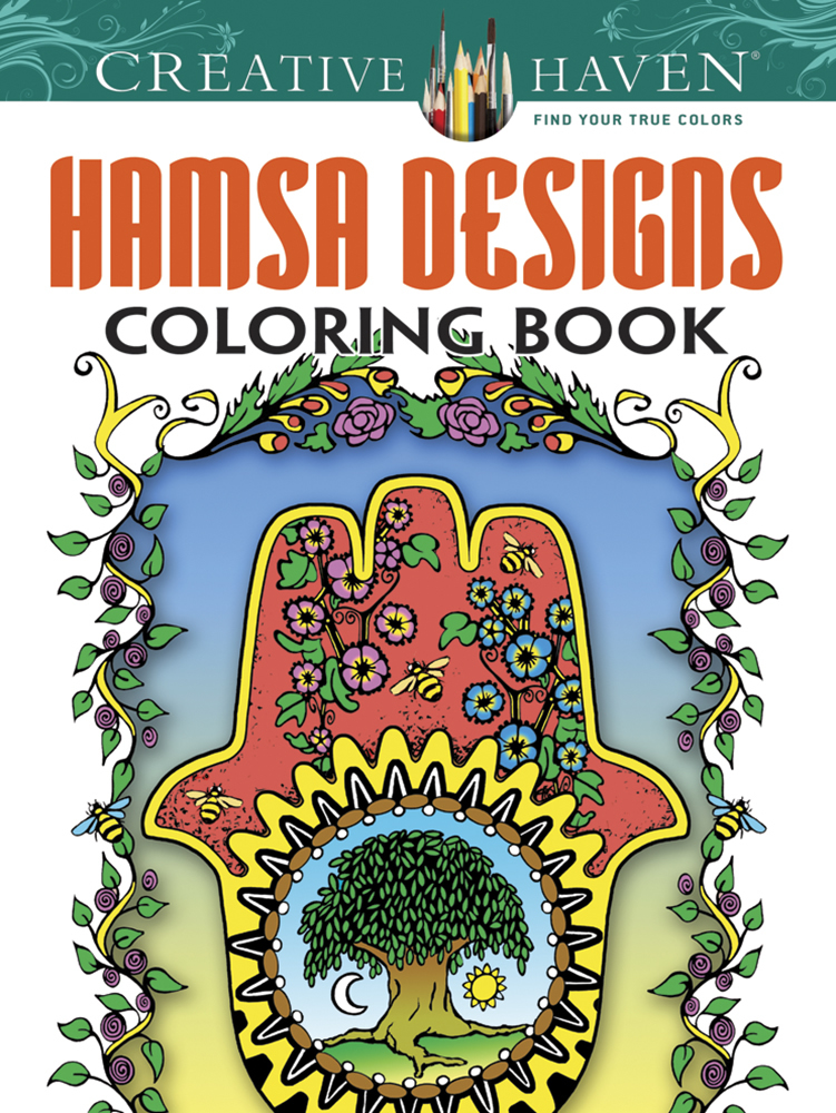 Creative Haven Hamsa Designs Coloring Book