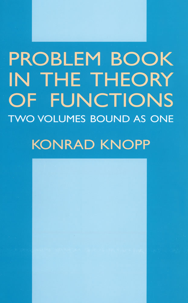 Problem Book in the Theory of Functions