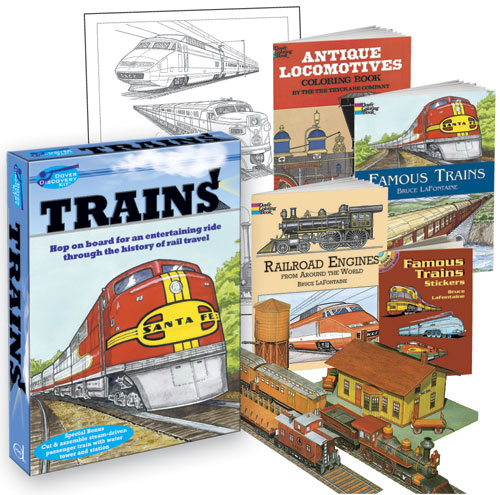 Trains Discovery Kit