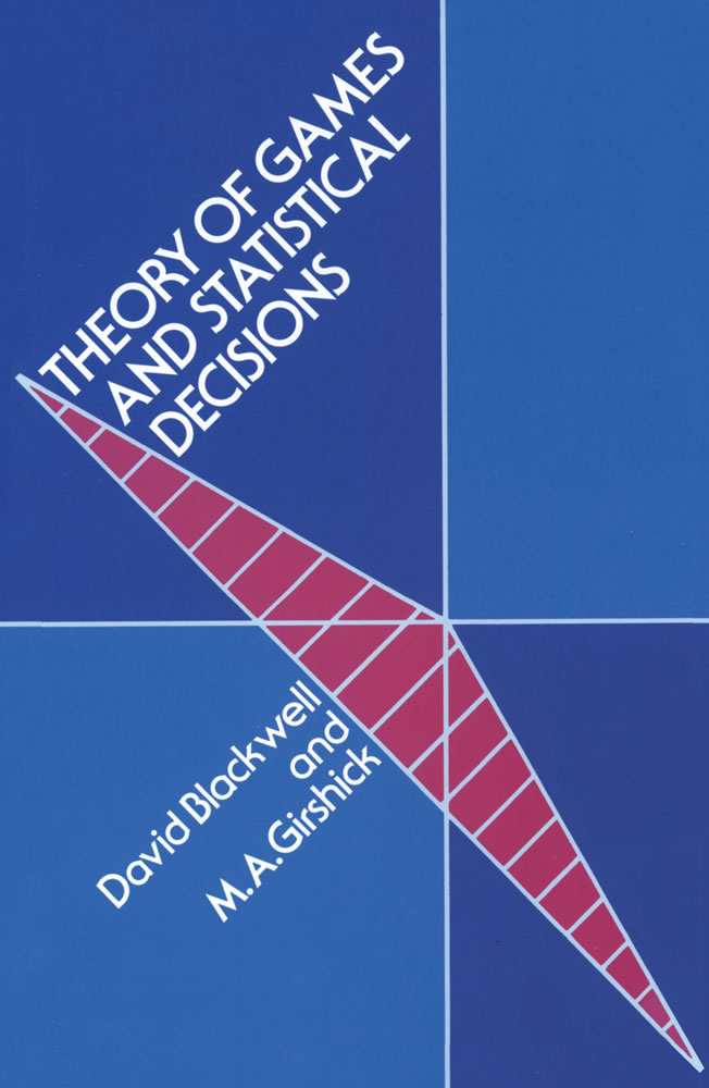 Theory of Games and Statistical Decisions (eBook)