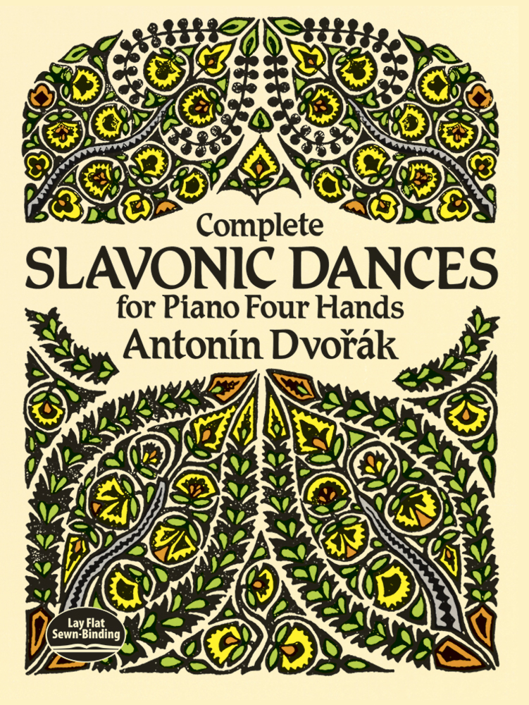 Complete Slavonic Dances for Piano Four Hands