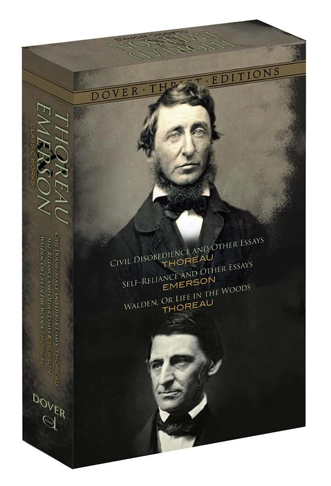Thoreau and Emerson Boxed Set: Classic Works
