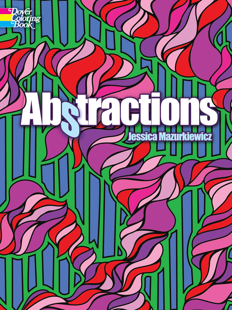 Abstractions Coloring Book