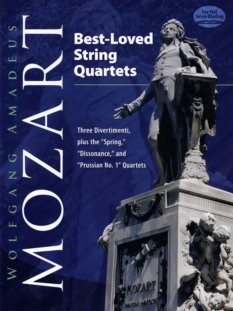 "Best-Loved String Quartets: Three Divertimenti, plus the ""Spring,"" ""Dissonance,"" and ""Prussian No. 1"" Quartets"