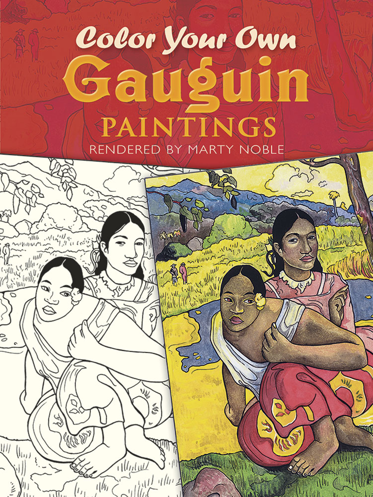 Color Your Own Gauguin Paintings
