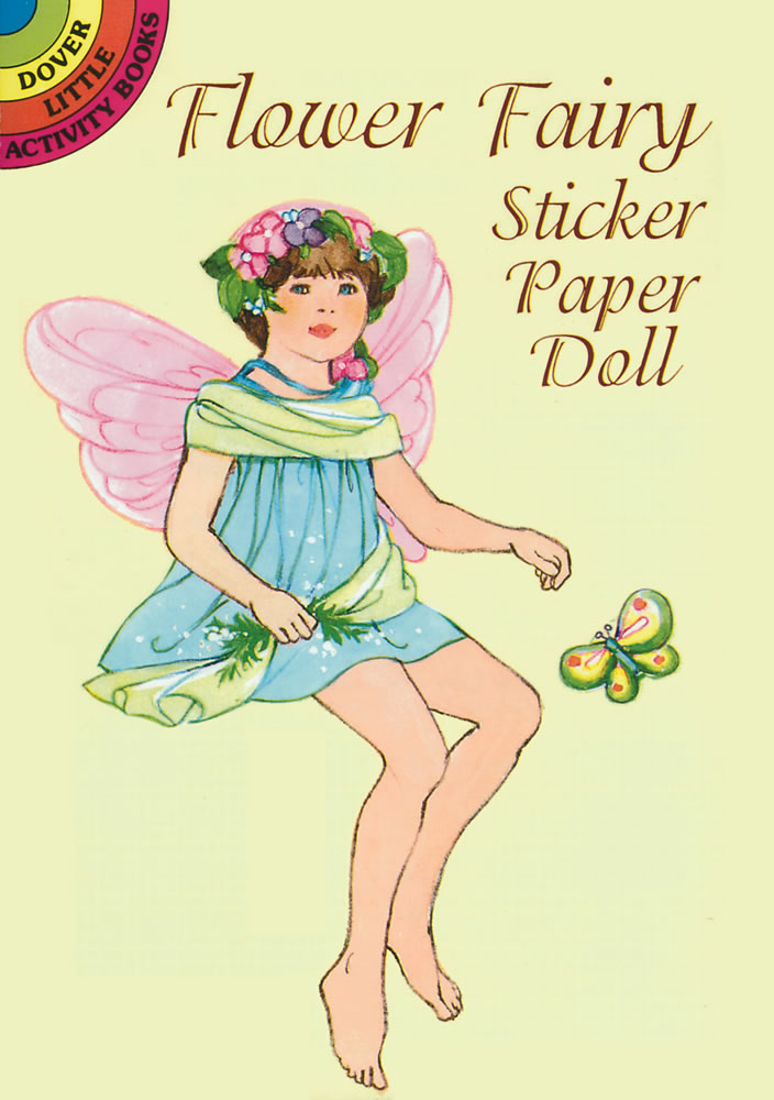 Garden Fairy Sticker Paper Doll
