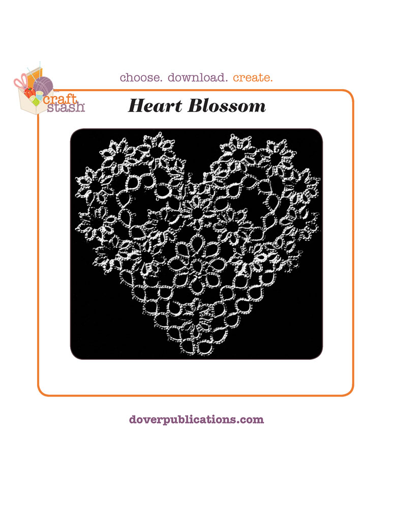 Heart Blossom (digital pattern)