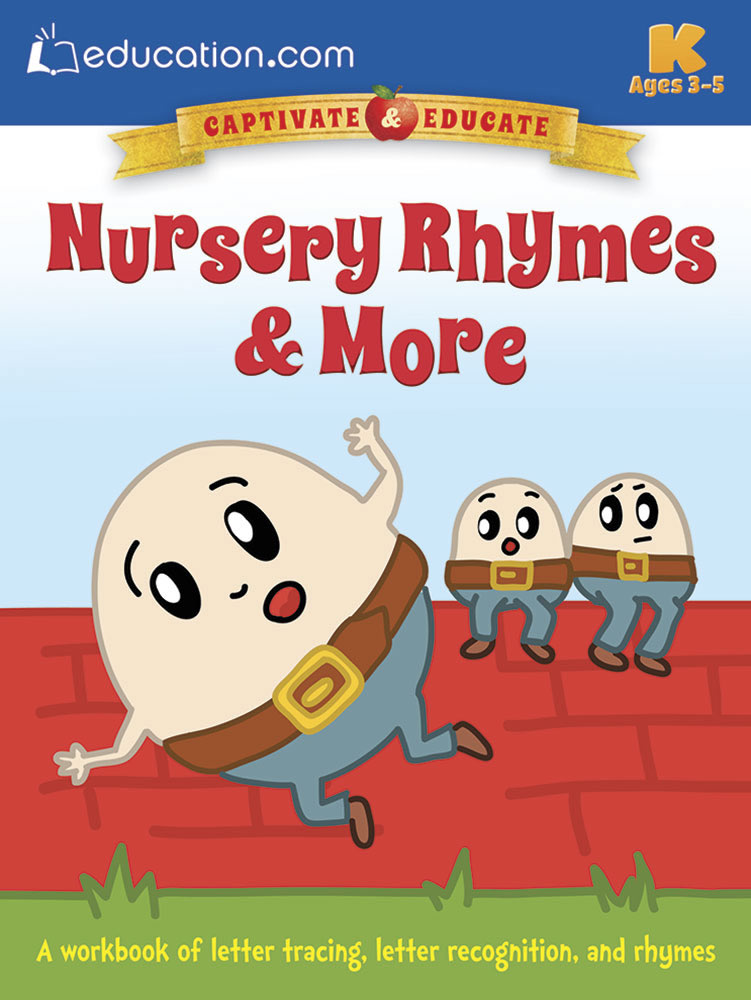 Nursery Rhymes & More: A workbook of letter tracing, letter recognition, and rhymes