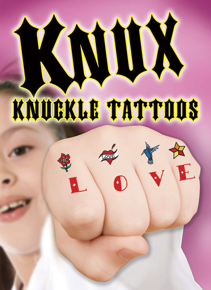 KNUX -- Awesome Knuckle Tattoos