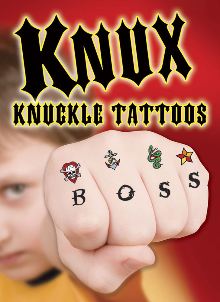 KNUX -- Cool Knuckle Tattoos