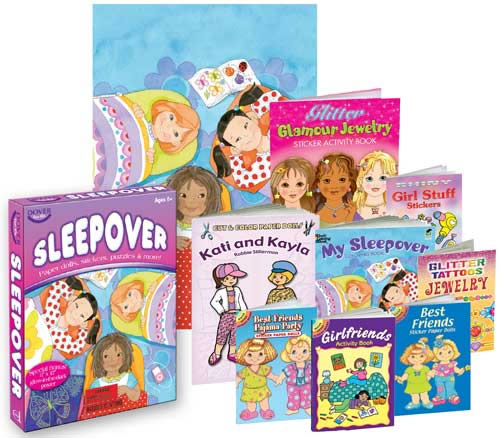 Sleepover Fun Kit