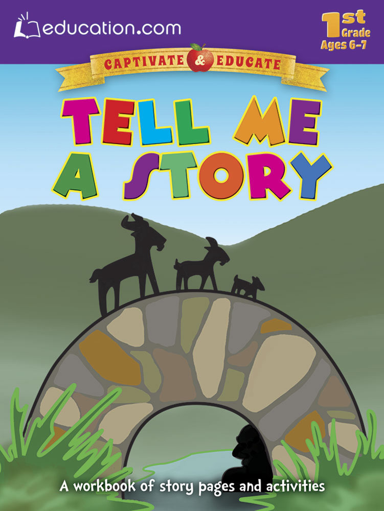 Tell Me a Story: A workbook of story pages and activities