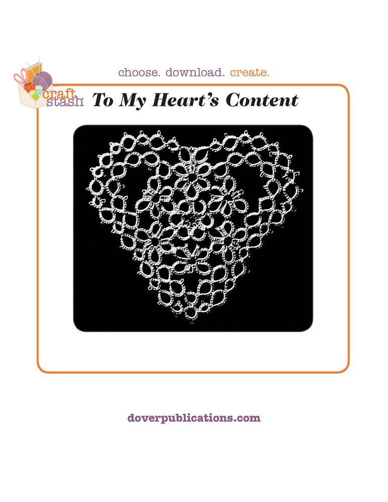 To My Heart's Content (digital pattern)