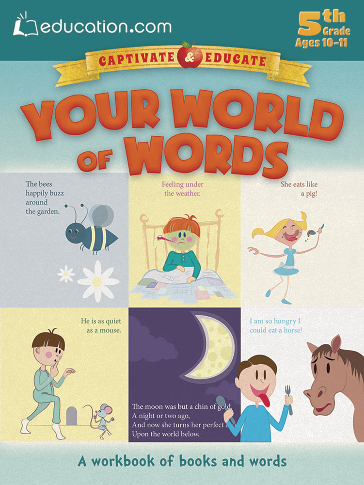 Your World of Words: A workbook of books and words