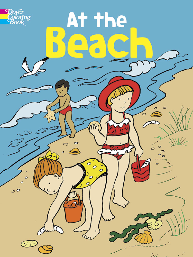 At the Beach Coloring Book