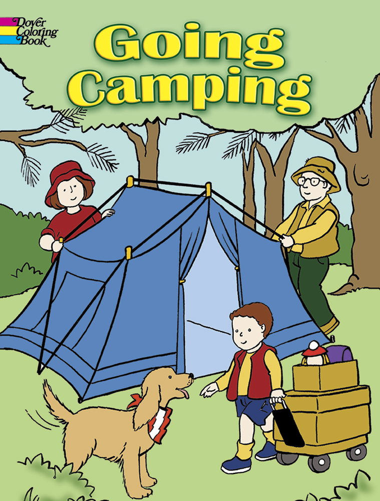 Going Camping Coloring Book