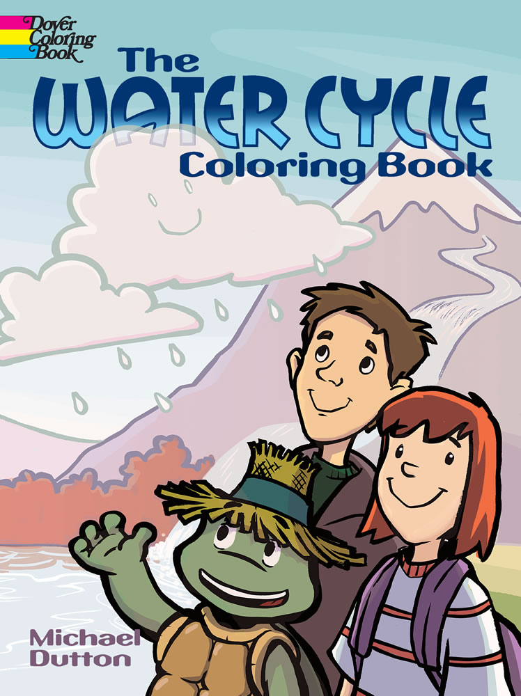 The Water Cycle Coloring Book
