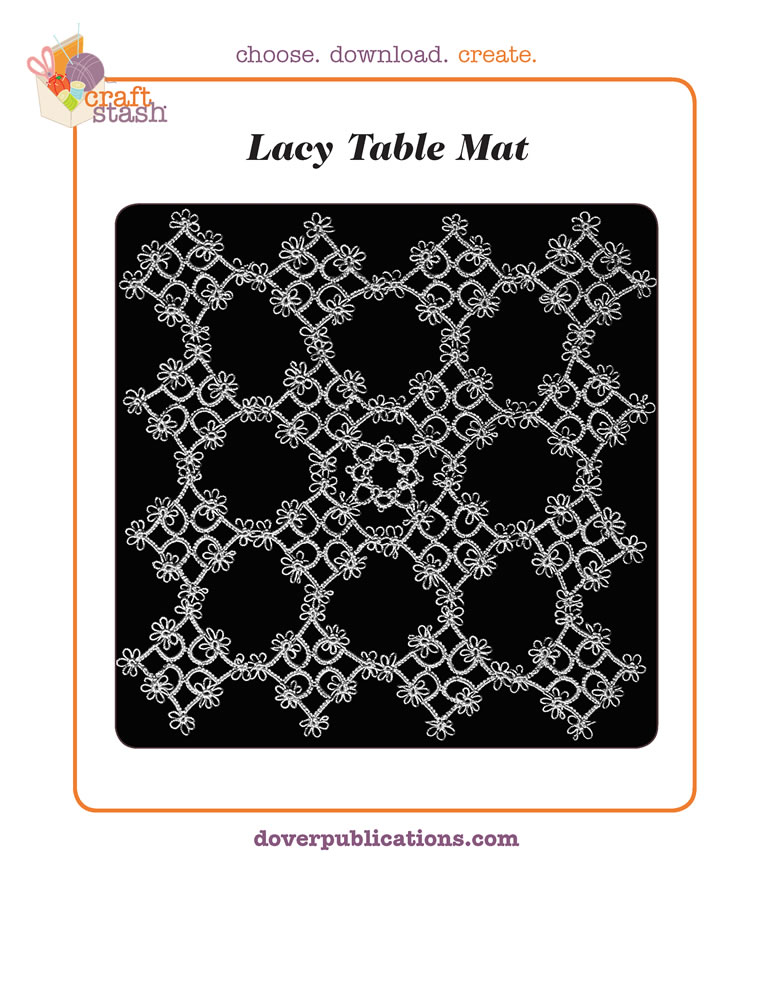Lacy Table Mat (digital pattern)