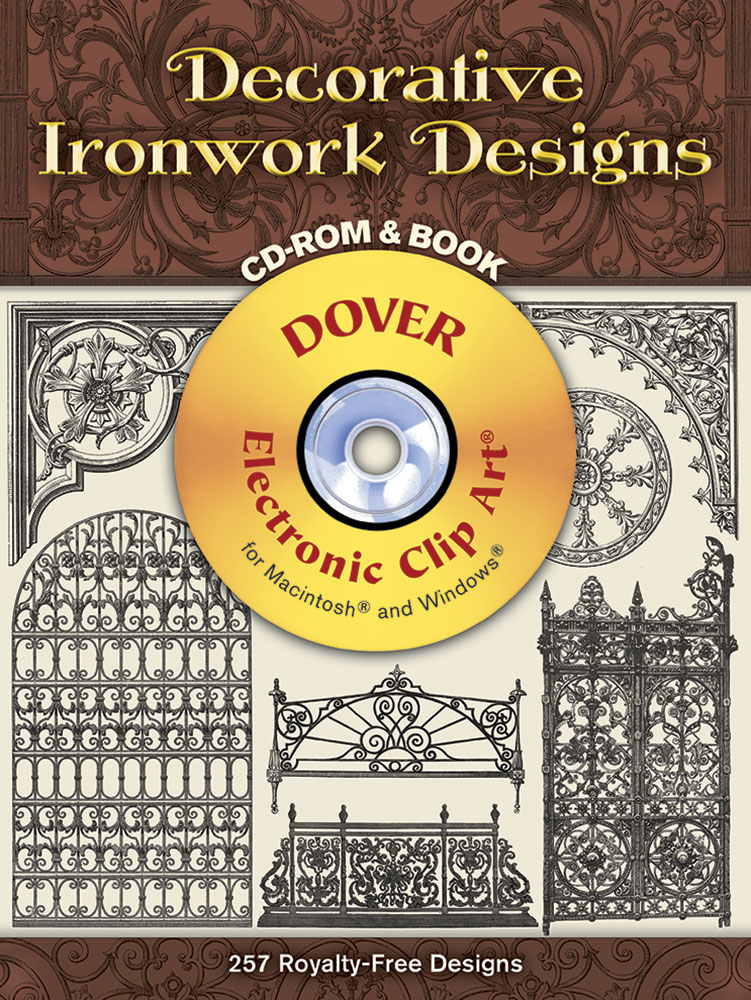 Decorative Ironwork Designs CD-ROM and Book