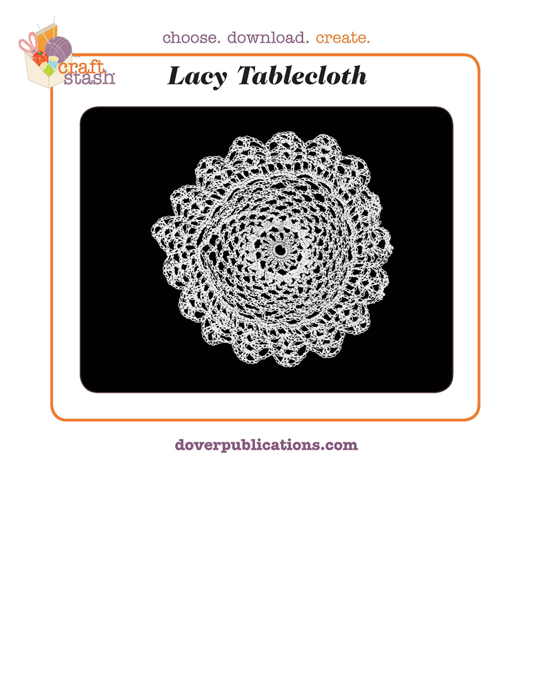 Lacy Tablecloth (digital pattern)