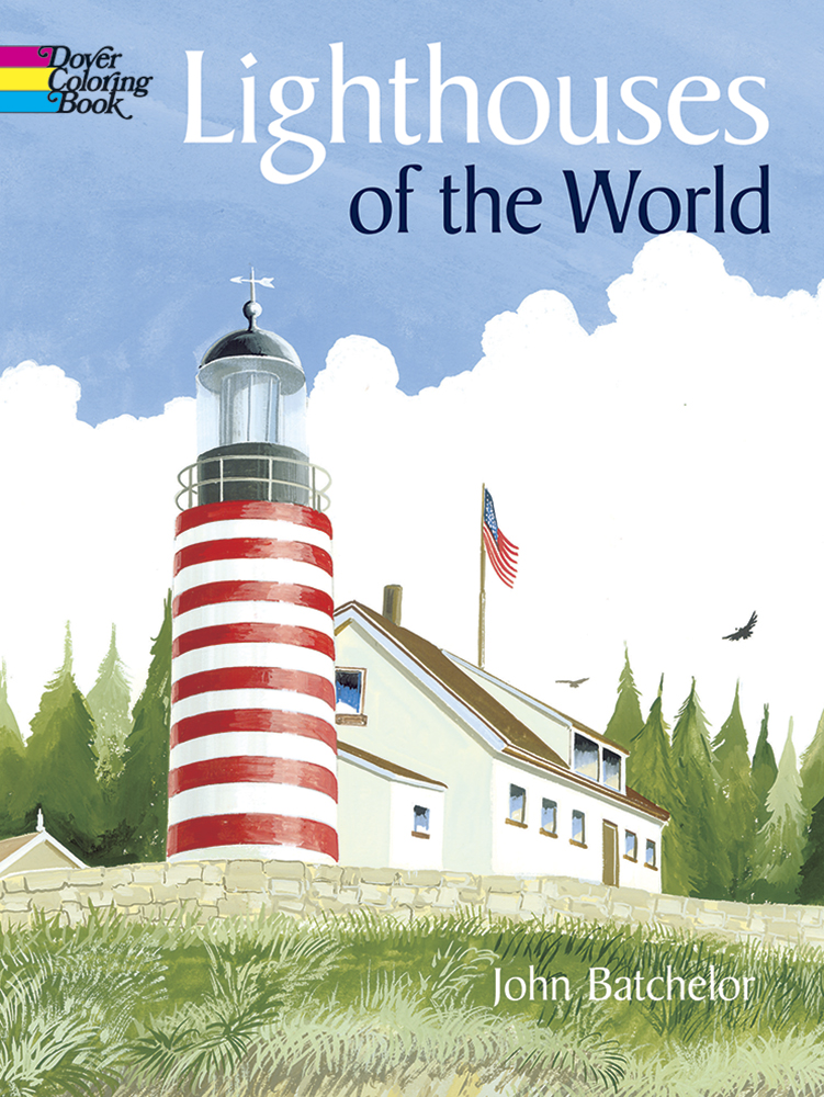 Lighthouses of the World Coloring Book