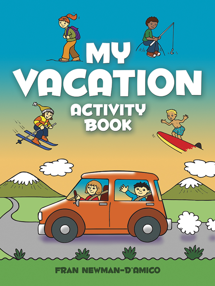 My Vacation Activity Book