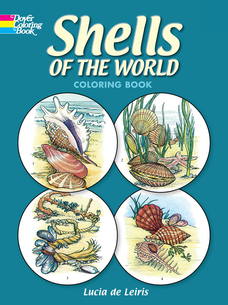 Shells of the World Coloring Book