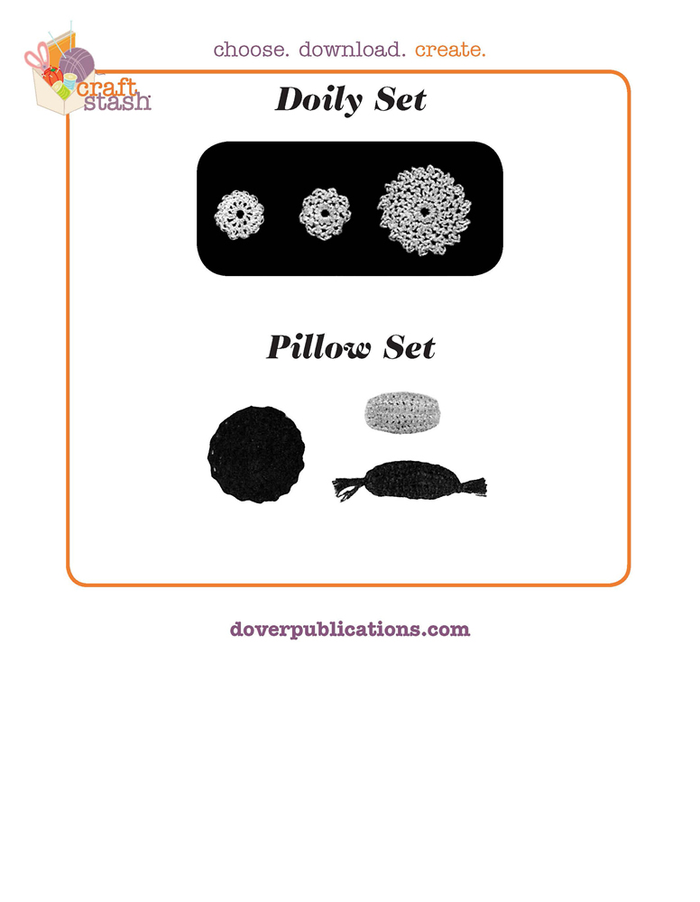 Doily and Pillow Set (digital pattern)