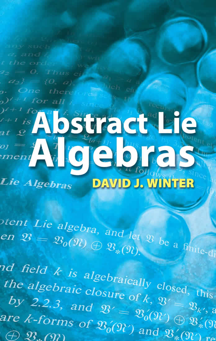 Abstract Lie Algebras (eBook)