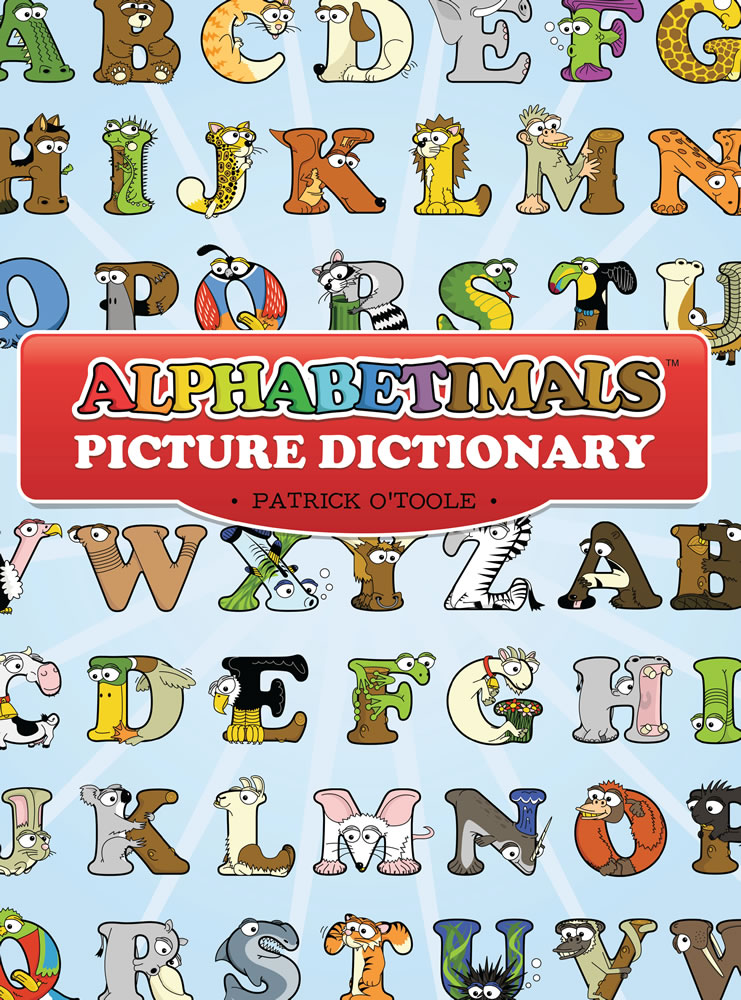 Alphabetimals Picture Dictionary Coloring Book