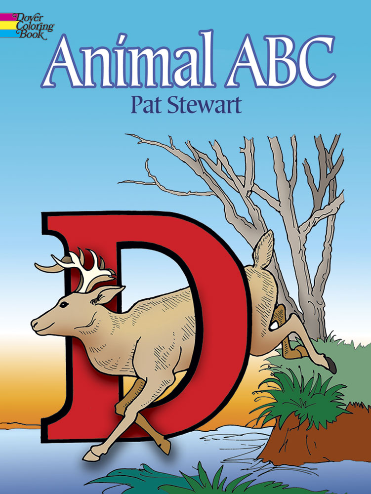 Animal ABC Coloring Book