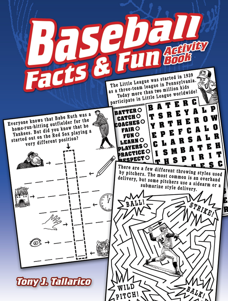 Baseball Facts & Fun Activity Book