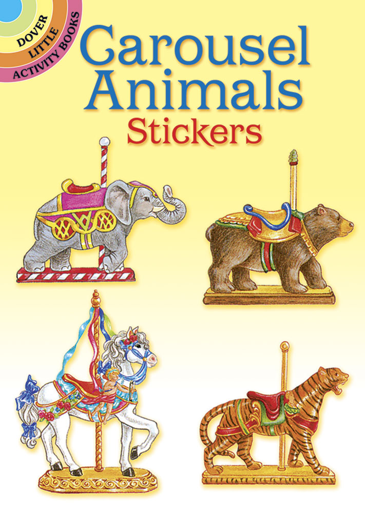 Carousel Animals Stickers