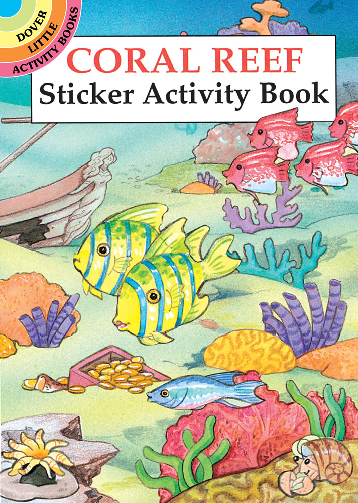 Coral Reef Sticker Activity Book