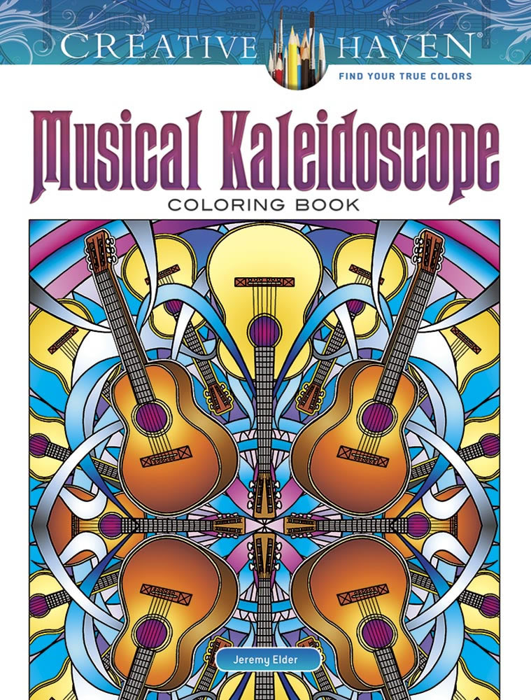 Creative Haven Musical Kaleidoscope Coloring Book