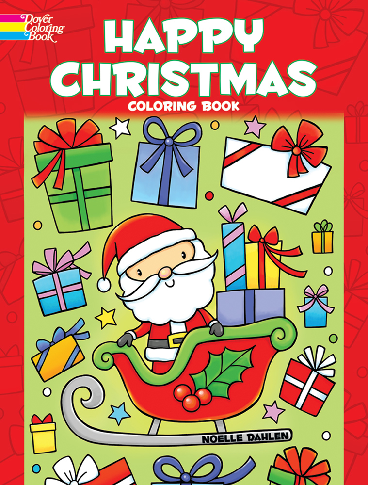 Happy Christmas Coloring Book
