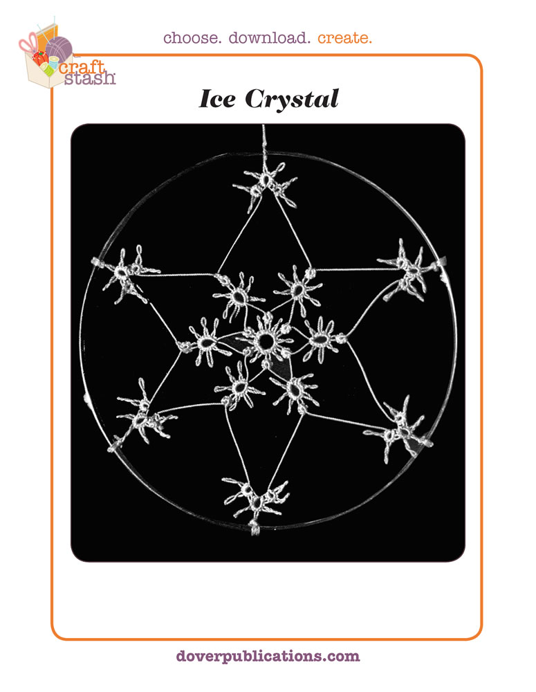 Ice Crystal (digital pattern)