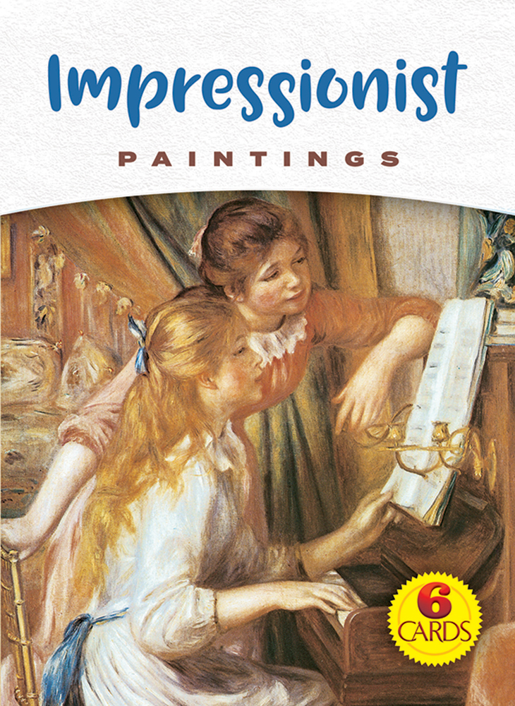 Impressionist Paintings: 6 Cards