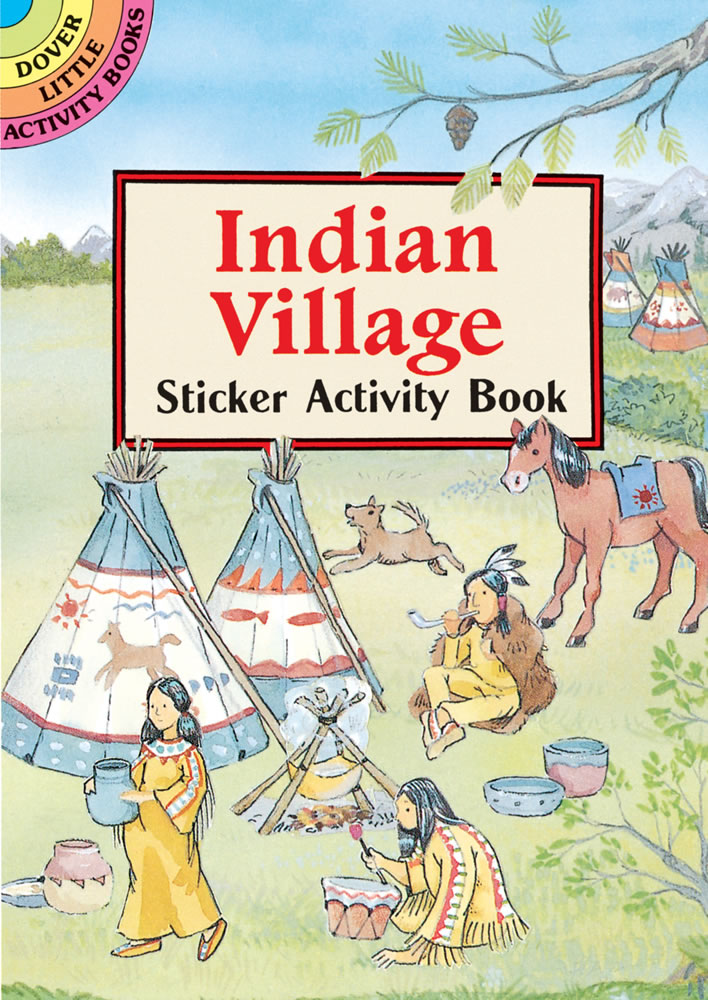 Indian Village Sticker Activity Book