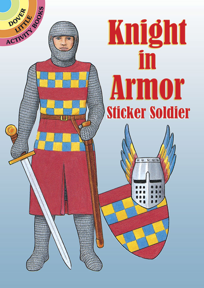 Knight in Armor Sticker Soldier