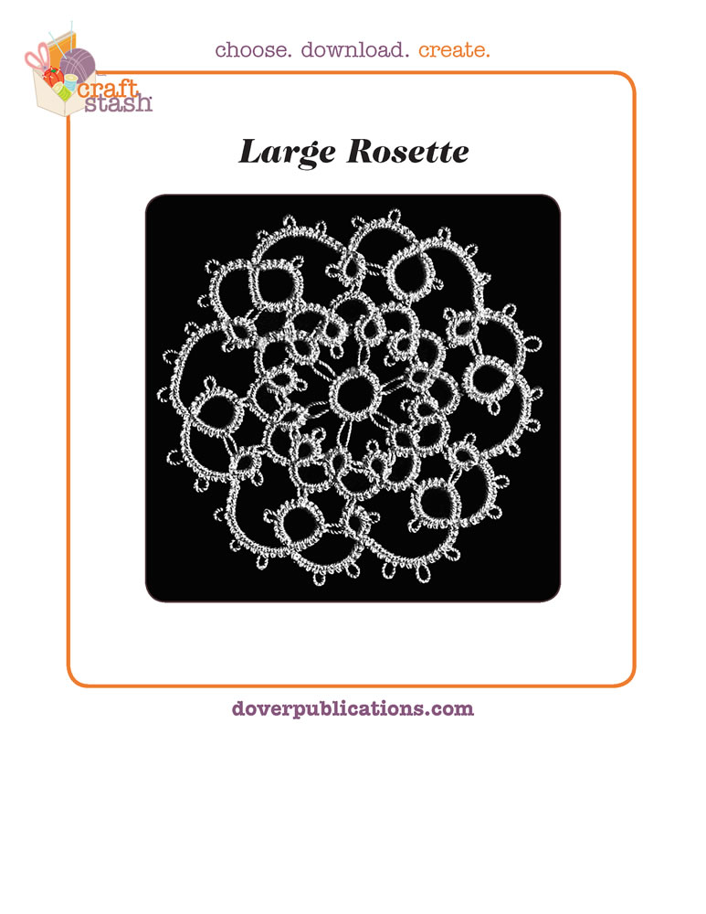 Large Rosette (digital pattern)