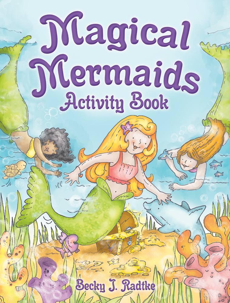 Magical Mermaids Activity Book