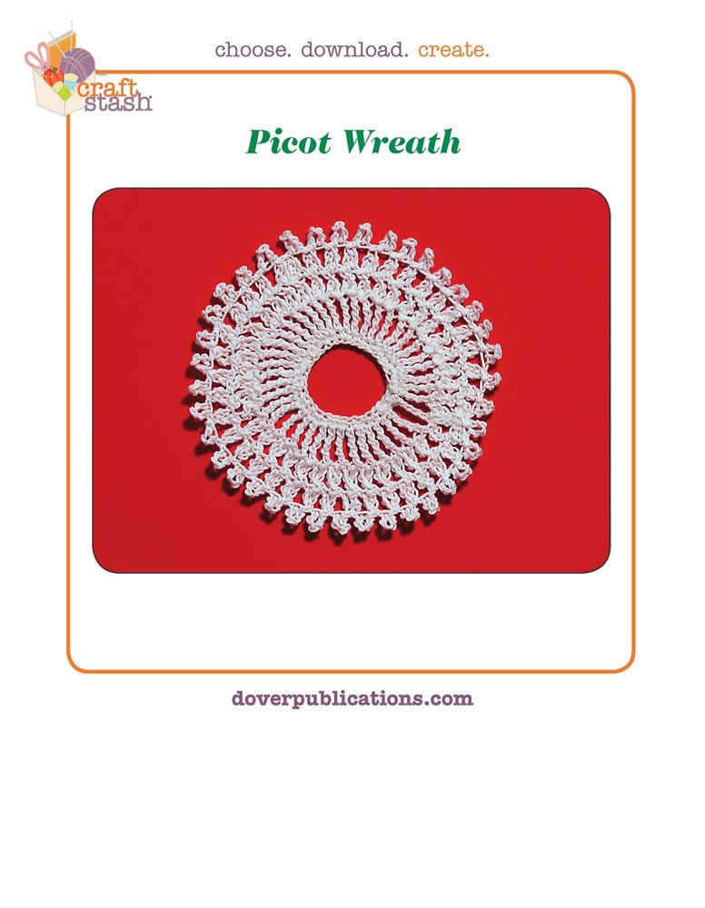 Picot Wreath (digital pattern)