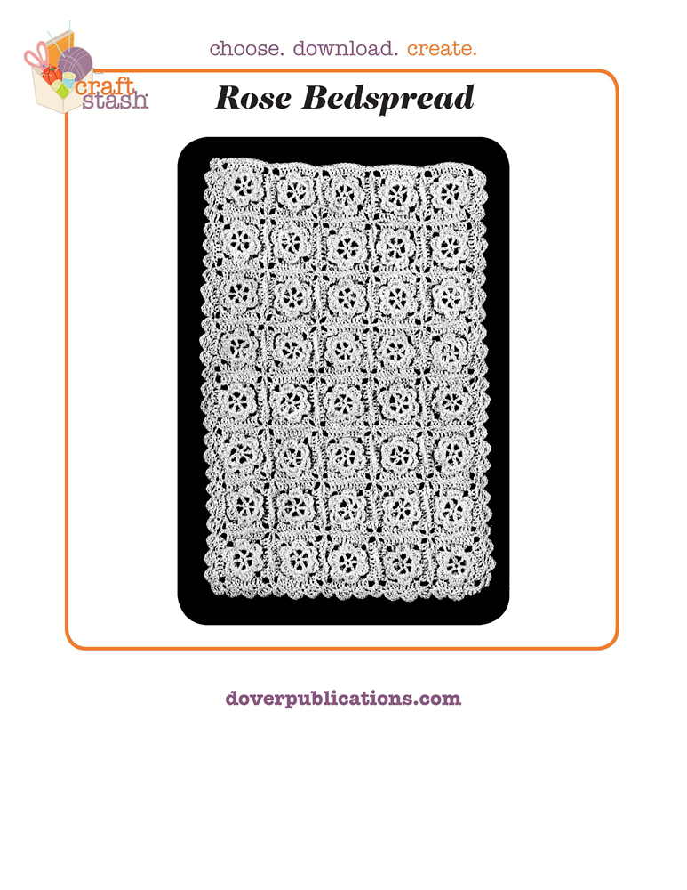 Rose Bedspread (digital pattern)