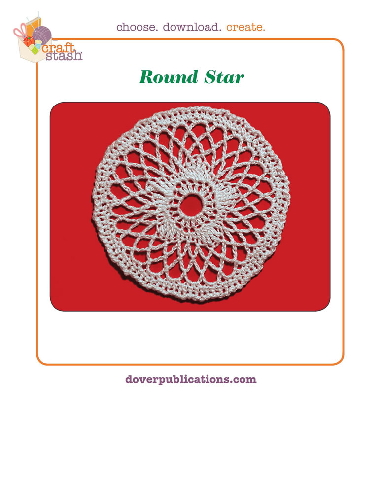 Round Star (digital pattern)