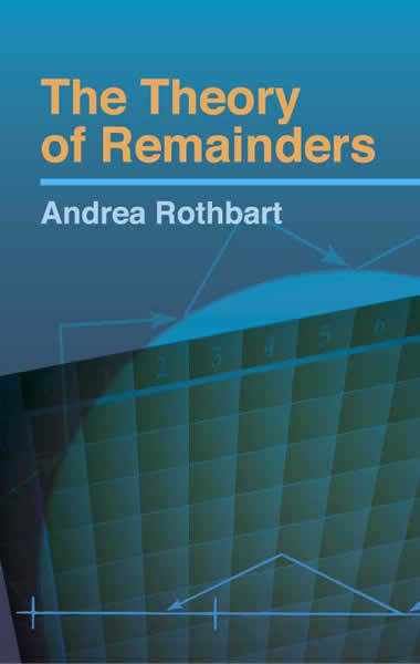 The Theory of Remainders (eBook)